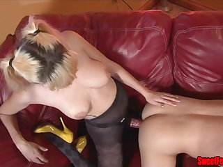 Meet Our New Lover CUCKOLDING FEMDOM PEGGING CUM Grinding
