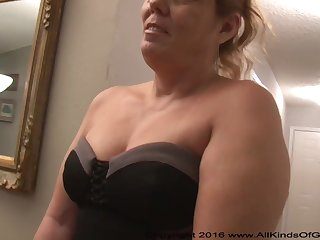 Mexican grandmother gilf with large ass attempts thinking remember assfuck unaffected pornography