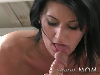 Overprotect Mature MILF takes charge of her man