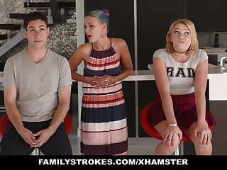 FamilyStrokes - Scavenger Hunt on every side sis swan around sexual