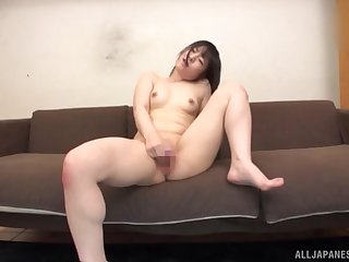 Amazing masturbating occasion in role of of the camera with Momokou Kanon