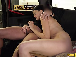 Bitch gets dick on both holes on say no to way to work