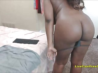 Big Black Bore Girl so Sweet BBW Teen with Glasses