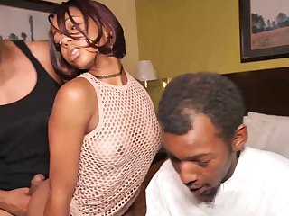 teen adherent ebony lovemore has her first bbc gangbang