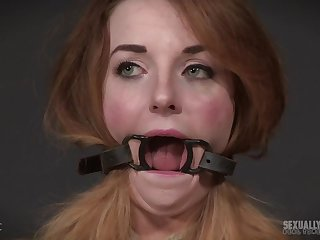 Teen slut Kate Kennedy forced a cock down say no to throat around bondage