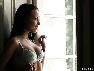 Ebullient Hungarian nympho Lexi Layo gets fucked by their way romantic neighbor